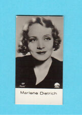 Marlene Dietrich Vintage 1930s Movie Film Star Cigarette Card from Germany #17
