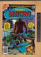 batman's detective comics no. 480 dc comics 1978 unread higher grade