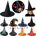Fashion Adult Monolayer Women Party Witch Hat For Halloween Costume Accessory