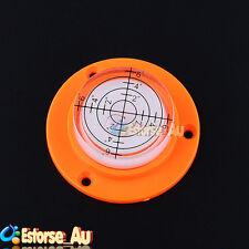 Bullseye Surface Spirit Level Bubble Level Trailer w/ Mark Division Line 50x17mm