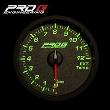 Pro G Race Series RC Gauge - Exhaust gas temperature (EGT) °C 60mm (green)