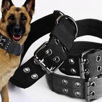 Táctico de gran resistencia Collar de perro grande Militar con hebilla de metal