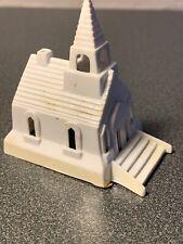 Vintage Christmas Miniature Church Putz Village Train Platform 2 Inches High