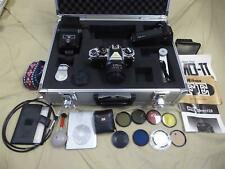 Nikon Fe 35mm Film Camera +Nikon Series E 28mm f/28 Lens + Hard Case/Accessories