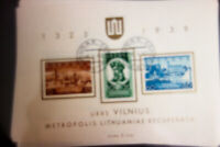 Lithuania Stamps # 316A Lot of 6 x Used w/ First Day Cancels Scott Value $96.00
