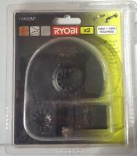 Ryobi RAK02MT Universel Multi Tool Blade Set 2 Piece