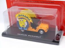 Ixo Presse Pub 1/43 - Citroen Mehari Banania