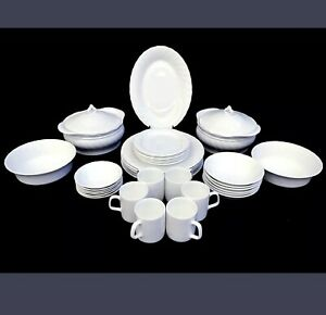 Dinner set 6 place setting + serving wares total 37 piece Give me an offer!!!