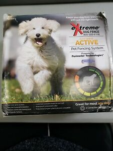eXtreme Dog Fence Replacement System - Transmitter and Collar ONLY