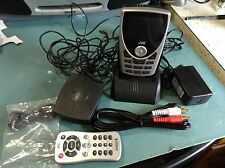 ACTIVATED EUC JVC KT-SR2000 SIRIUS RECEIVER AND complete HOME KIT KS-k6013 XM