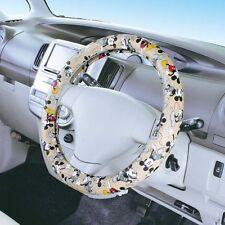 JDM Disney mickey mouse steering wheel cover black Kawaii car accessory WD-246