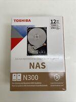 "Toshiba N300 12 TB Hard Drive - 3.5"" Internal - SATA (SATA 6.0gbit/s)"
