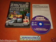 CODES ACTION REPLAY GTA GRAND THEFT AUTO III 3 AND VICE CITY PS2 PLAYSTATION