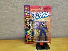 Toy Biz Marvel Uncanny X-Men 1996 5th Edition Wolverine figure, Blue Suit, New!