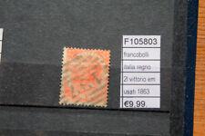 FRANCOBOLLI ITALIA REGNO 2L. VITTORIO EMANUELE 1863 USATI (F105803)