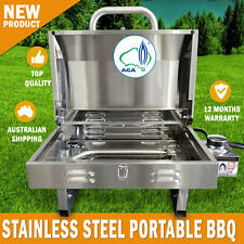 NEW Euro-Grand BBQ Portable Boat Gas Barbeque Stainless Steel Caravan