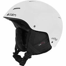 Cairn Android Matt White Helmet Outdoors Snow Sports Ski Adult 59/60cm