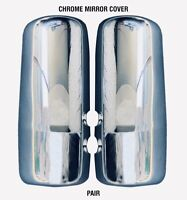 Kenworth T680 T880 W990 Chrome Mirror Pair Covers  #13555 /& #13556