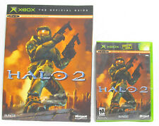 Halo 2 - Original 2004 Xbox Game & Official Guide - Bungie