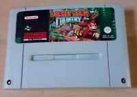 Super Nintendo SNES PAL Game - Donkey Kong Country - Cartridge