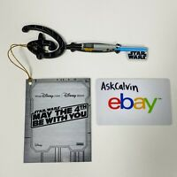 Star Wars May The 4th Be With You Lightsaber Disney Key - IN HAND FAST FREE SHIP