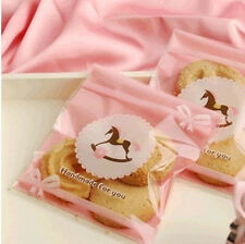 Cockhorse/Rocking Horse Plastic Gift Bakery Cookies Self-Adhesive Cello OPP Bags