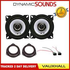 "Alpine 360 Watts 10cm 4"" 3 Door Rear Door Speakers Full Kit VAUXHALL ZAFIRA A B"