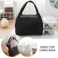 Insulated Lunch Hand Bag Thermal Tote Adult Kids Picnic Storage Cool Box School