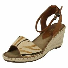 Women's Animal Print 100% Leather Casual Sandals & Beach Shoes