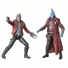"Marvel Legends Guardians of the Galaxy 3.75"" Star Lord Yondu Action Figure 2pk"