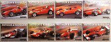 ANTIGUA BARBUDA 2002 3798-05 Ferrari Rennwagen Race Cars Autos Rennautos MNH