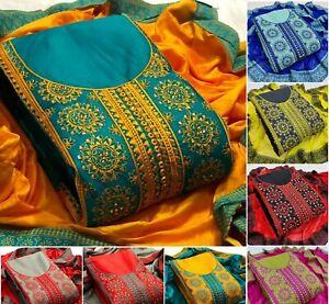 Salwar Kameez Suit Shalwar Designer Indian Pakistani Party Wear Dress Bollywood