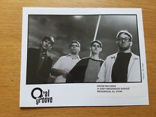 ORAL GROOVE 8x10 BLACK & WHITE Press Kit Publicity Photo 90's POWER POP BAND