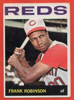1964 Topps #260 Frank Robinson VG-VGEX+ WRINKLE MARKED Cincinnati Reds FREE S/H