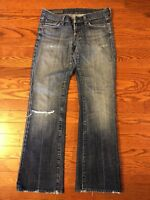 COH Citizens of Humanity Denim Jeans Kelly #001 Low Waist Bootcut Stretch sz 27