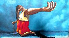 Original Oil Painting on canvas by Jesus Ortiz Tajonar (1919 - 1990)  No Reserve