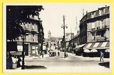 cpsm 95 - PONTOISE (Val d'Oise) Rue THIERS Café des SPORTS et du CHEMIN de FER