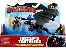Dragons Dragon Riders Hiccup & Toothless Action Figure 2-Pack [Yellow Tail]