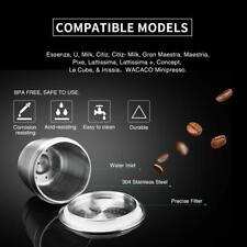 304 Stainless Steel Refillable Reusable Coffee Capsule Pod Cups For Nespresso#