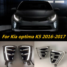 For 2016 to 2017 Kia Optima K5 SX and SX Limited Only Fog Light Cover LED DRL