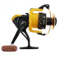 Spinning Carp Fishing Reel Wheel 12BB 5.2:1 with Double Metal Line Cup 10KG/22LB