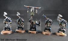 Warhammer Age of Sigmar Destruction Ironjaws Ardboys 2 handed weapon w/ Standard