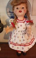 "Vintage ideal saucy walker type doll 1950'S 19"""