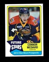 2014 HOT SHOT PROSPECTS CONNOR MCDAVID FUTURE STARS RC ERIE OTTERS