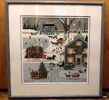 Charles Wysocki CAPE COD CHRISTMAS 1982 Christmas Print HAND SIGNED & NUMBERED
