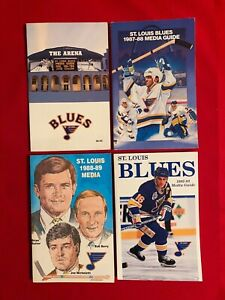 NHL St. Louis Blues media guide yearbook / You pick 'em / Box 2021 / Hull