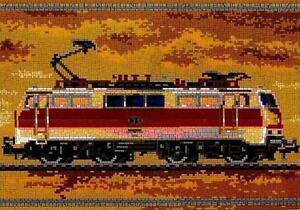 Mini Stecksystem E-Lok DB 111 ca. 8.000 Teile mit XXL-Steckvorlage Nr. 42139