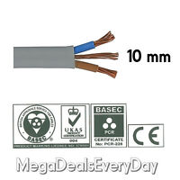 10 mm Twin and Earth T&E Electric Cable Wire | Domestic High Power Cooker Shower