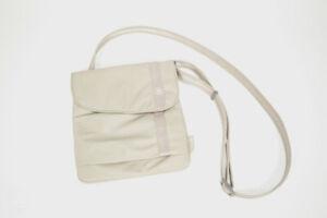 Pacsafe SlingSafe 100 Exomesh Anti-Theft Security Cross Body Bag Purse Beige