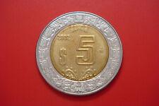 Mexico, 5 Pesos, 2002, Mexico City UNC